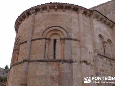 Iglesia de San Miguel - Fuentidueña -- viaje senderismo; singles senderismo madrid